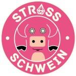 Logo strass-Schwein Farbe